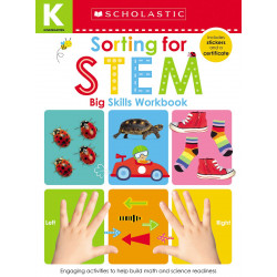 Scholastic Early Learners: Kindergarten Big Skills Workbook: Sorting for Stem, 48 pages