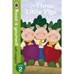 The Three Little Pigs -Read it yourself with Ladybird : Level 2 Hardcover, 32 Page