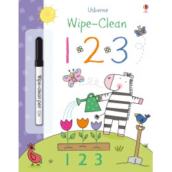 Wipe-Clean 123, 24 pages