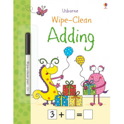 Wipe-Clean Adding, 24 pages