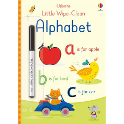 Little Wipe-Clean Alphabet, 20 pages