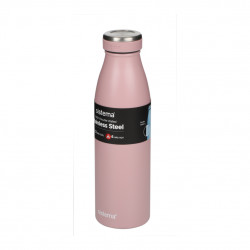 Sistema Stainless Steel Bottle 500ml - Nude