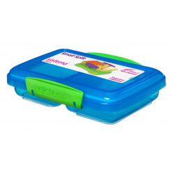Sistema 350ml Split Lunch Box - Blue
