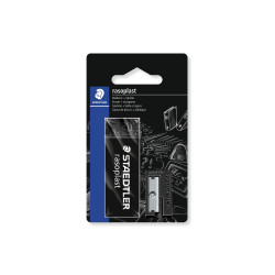 Staedtler Rasoplast Eraser Set and Pencil Sharpener, Black