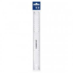 Staedtler Flat Ruler Plastic 30 cm Clear