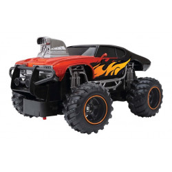 New Bright Remote Control  Mega Muscle Car, Red