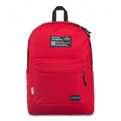 JanSport Recycled Super Backpack, Red Tape