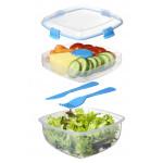 Sistema Salad To Go 1.1L, Blue