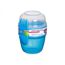 Sistema Snack Capsule to go, 515 ml, Blue