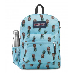 JanSport Cross Town Backpack, Leopard Pineapples