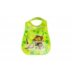 Plastic Baby Bib Waterproof, Silly Monkey
