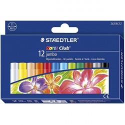 Staedtlers Noris Jumbo Oil Pastel Crayon, Pack of 12