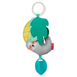 Skip Hop Tropical Paradise Jitter Stroller Toy - Sloth