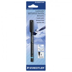 Staedtler Laundry Marker Waterproof 0.6 mm, Black