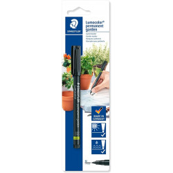 Staedtler Permanent Garden Marker 1 mm, Black