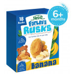 Heinz -Farleys Banana Rusks, 300 g