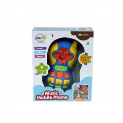 Little Mimos Baby Toy 2 in 1 Microphone Speck, Blue