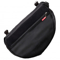Skip Hop Grab and Go Attachable and Insulated Side Sling Stroller Saddle Bag and Organizer, 2 Pockets, Black