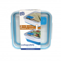 Cool Gear Expandable Lunch Box 2 Go , 1.47L