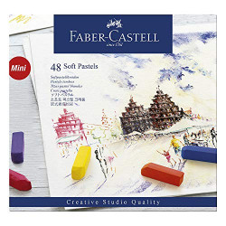 Faber-Castell Soft Pastel Goldfaber long 24 colors