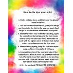 GUGU's Tie Dye your T-shirt, 6-8 years