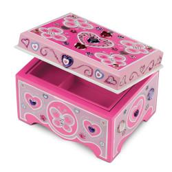 صندوق مجوهرات خشبي لتزينه بنفسك من ميليسا آند دو