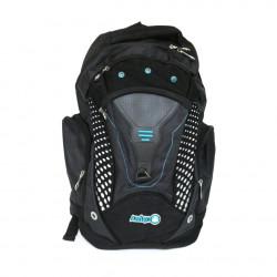 Amigo School Bag, Black&Blue