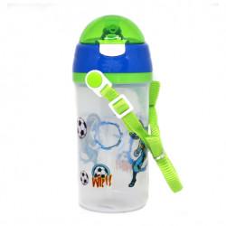 زجاجة ماء ، اخضر ، 600 مل