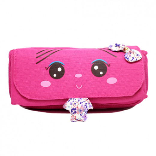 Amigo Large Case With Front Accessory Pouch, pink