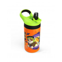 Zak Designs Paw Patrol Halloween Water Bottle With Straw, 16 oz.
