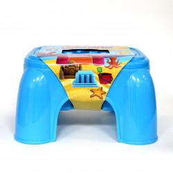 طاولة عجين ثلاثية الأبعاد ، مع 36 عجينة ، أزرق