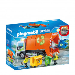 Playmobil Recycling Truck 54 Pcs For Children
