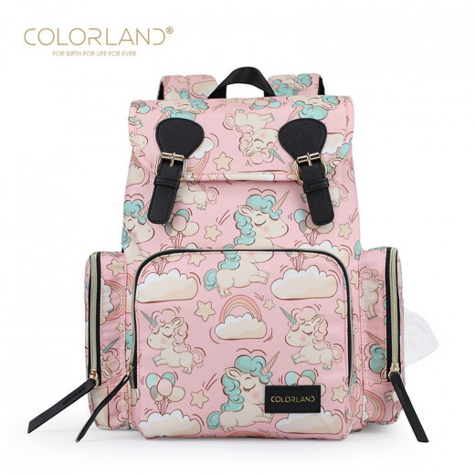Colorland Changing Bag for Mothers, Pink