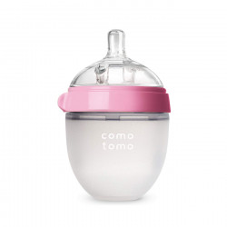 Comotomo Baby Bottle, Pink, 150 ml