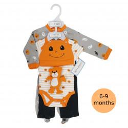 طقم الرضع مكون من 5 قطع مناسب للهالوين, 6-9 شهور