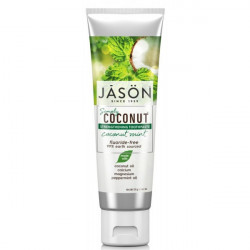 Jason Naturals - Simply Strengthening Coconut Coconut Mint Toothpaste