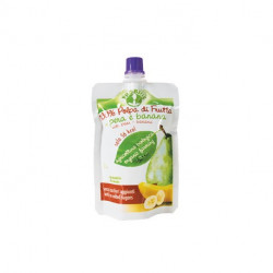 Pro Org Pear And Banana Pulp Puree 100g