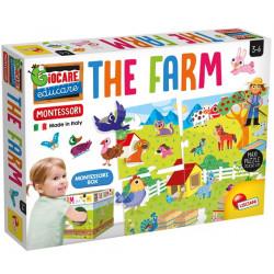 Lisciani Maxi The Farm Montessori