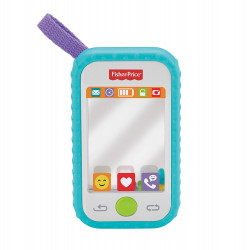Fisher Price Selfie Fun Phone, Baby Rattle, Mirror and Teething Toy