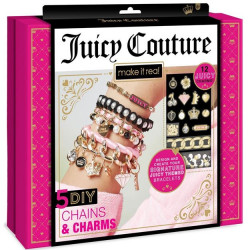 Make It Real Juicy Couture Gold 5 DIY Chains And Charms