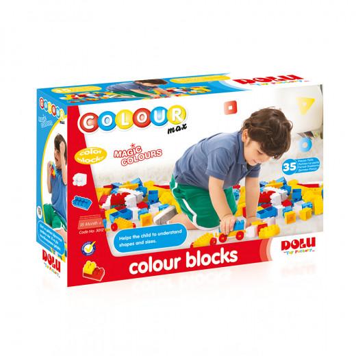 Dolu Color Building Blocks 35 Pieces