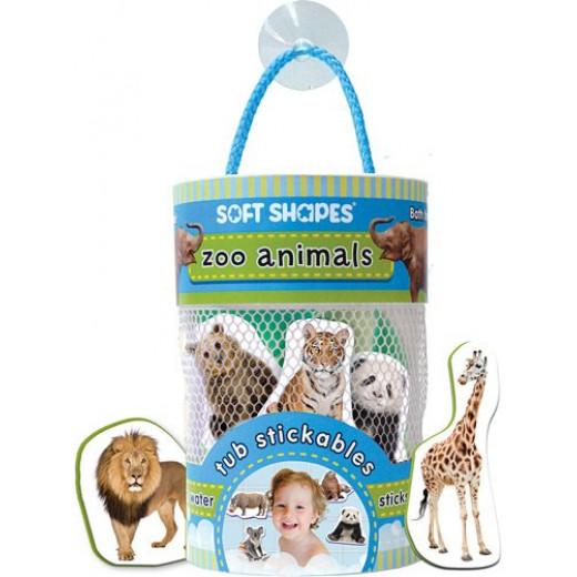 Tub Stickables: zoo animals