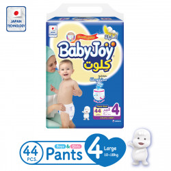 Baby Joy Pants Large Size 4, 10-18 kg, 44 Pieces