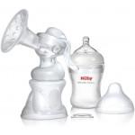 Nuby Softflex 2-in-1 Manual Breast Pump Set