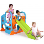 Feber Unisex Activity Center with Play Slide, Multi Color