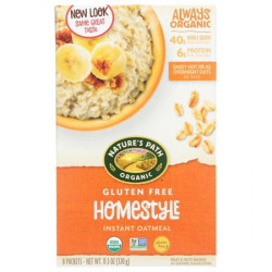 Natures Path Cereal Hot Gluten Free Homestyle, 320g