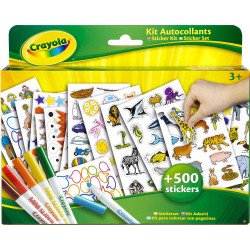 Crayola Coloring & Stickers Kit