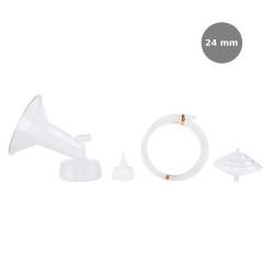 Spectra Wide Breast Shield Set (24mm (M)) 4pc