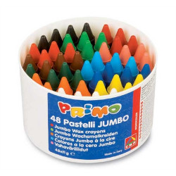 Primo Wax crayons 48 jumbo