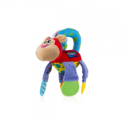 Nuby Floppers Teether Toy, Monkey